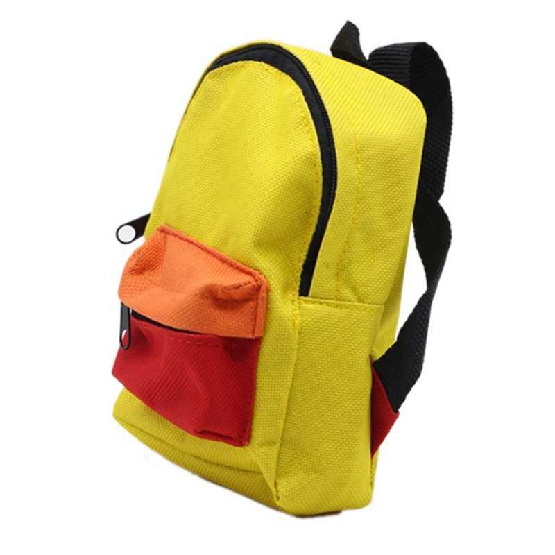 Handmade 18in plecak dla lalek dla amerykańskich dziewcząt torba akcesoria dla lalek prezenty dla dzieci