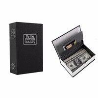 2017 Secret Box Book Safe With Key Lock Money Jewelry Safty Collection Case Household Locker Storage
