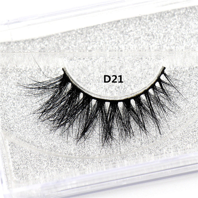 LEHUAMAO Mink Lashes 3D Mink False Eyelashes Long Lasting Lashes Natural Lightweight Mink Eyelashes Fluffy Dramatic Eye Makeup 3