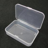 10pcs SMD SMT Screw Sewing Fish Hook Component   Storage     Tool   Box PP Transparent Electronic Plastic Parts Box for   Tool