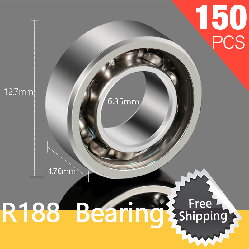 150pcs  Hybrid Bearing 10 Balls Deep Groove Wheel Highs For Toy EDC Finger Gyro and DIY Fishing Reel Ball Bearings Spool Bearing отвертка 2015 150 10 halo vt e edc vtf150 microtech 150 10