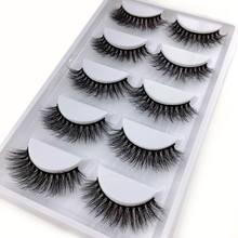 ใหม่50/250/500คู่3D Mink Lashesขนตาปลอมธรรมชาติขายส่งไม่มีCruelประดิษฐ์Mink Eyelashes eyelash Extension