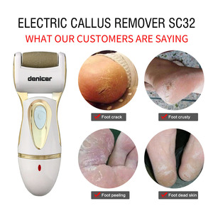 Image 3 - Rechargeable Callus Remover Electric Pedicure Tools Foot Care File Dead Skin Peel Tool Pedicura File for Feet+7 Heads