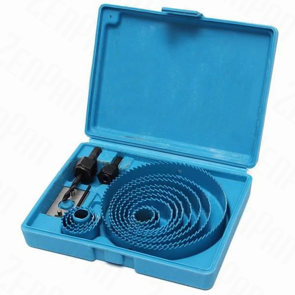 13pcs 19-127mm Hole Saw Cutting Set With Hex Wrench Wood Working Tool