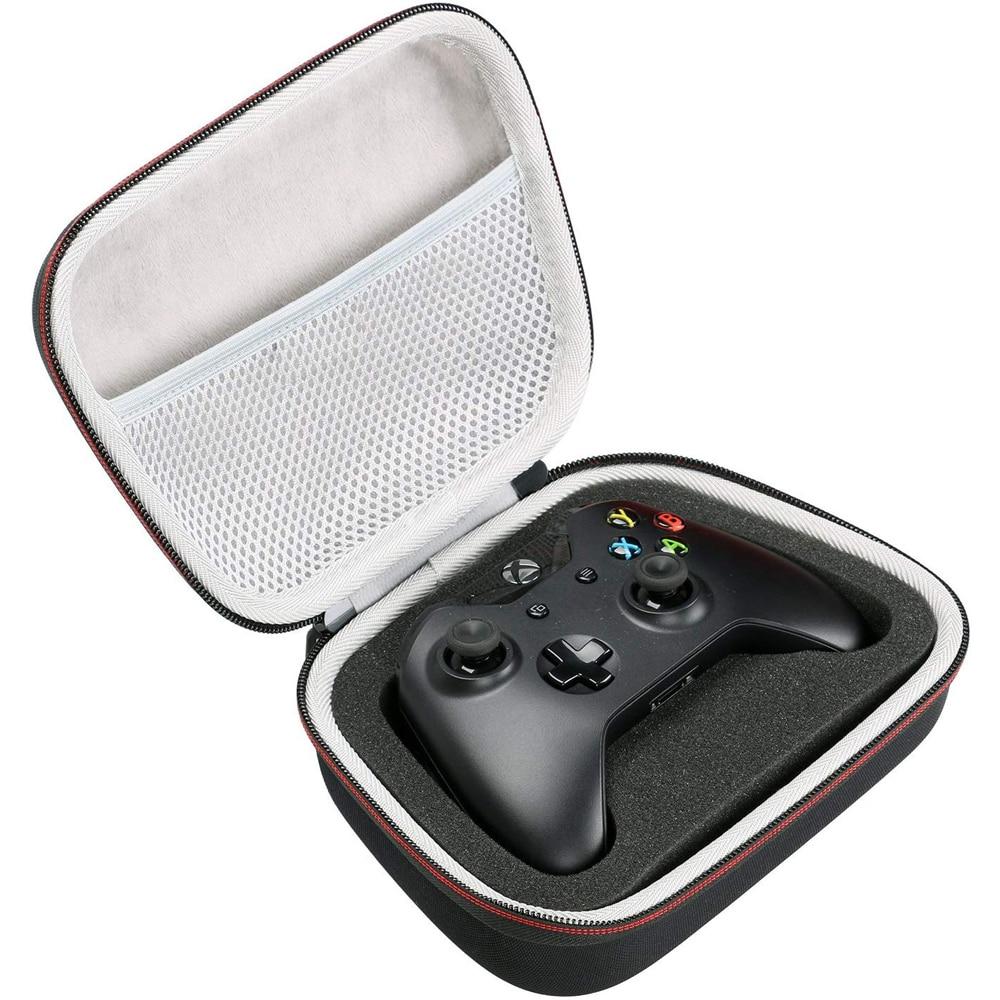 WunderschöNen Eva Hard Case Reise Durchführung Portable Storage Tasche Für Xbox One/one S/one X Controller Mit Mesh Tasche Passt Stecker & Kabel Videospiele Taschen