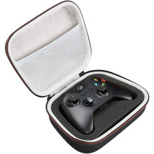 EVA Hard Case Travel Carrying Draagbare Opbergtas voor Xbox One/One S/One X Controller met Mesh pocket Past Plug & Kabel(China)