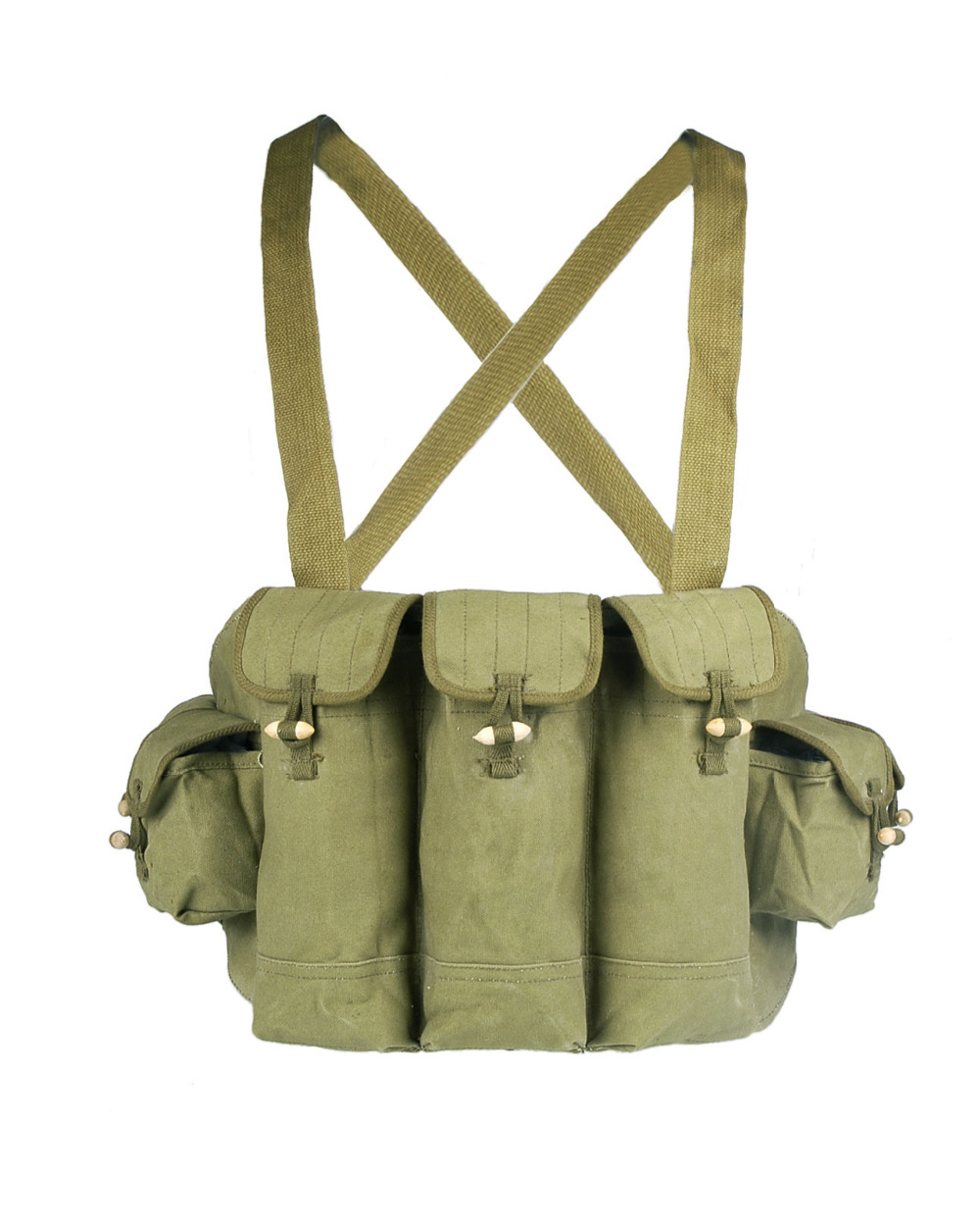 Loklode Chinese Military Surplus AK47 Chest Pouch Rig Ammo Mag Bandolier Type 56