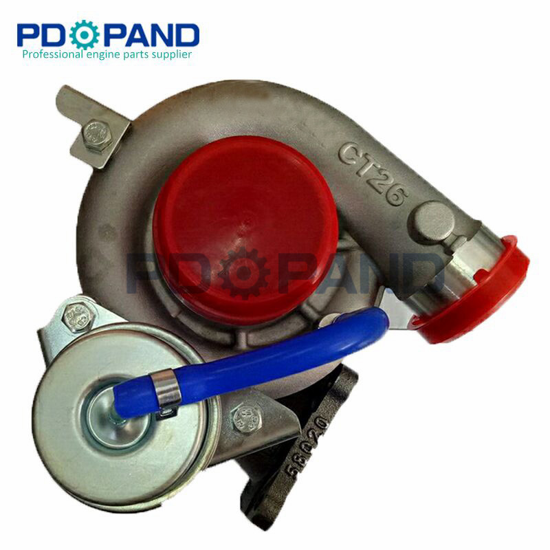 turbo CT26 turbocharger turbine whell turbo kit for Toyota Land Cruiser J8 4164 cc 1HDT diesel engine 17201-17010 turbine