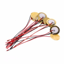 10 шт. пьезоэлектрическая пьезокерамическая пластина диаметром 15 мм для звукового динамика