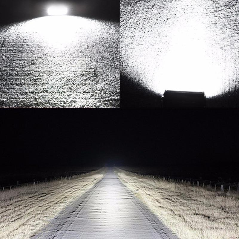 120 W HA CONDOTTO LA Luce del Lavoro Bar Flood Spot del Fascio Offroad 4WD Guida La Lampada Della Nebbia Bianco Freddo