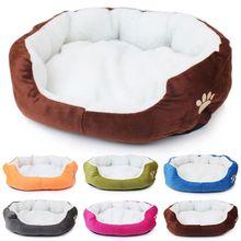 Мягкая полярная хлопковая кровать для собак, кошек, зимнее теплое гнездо, домик для питомцев, дешевый питомник для собак, внутренний спальный дом, кровать для щенков, цена