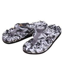 2019 men slippers beach shoes summer Camouflage Flip Flops Shoes Sandals Slipper indoor & outdoor Flip-flops New 1.84(China)