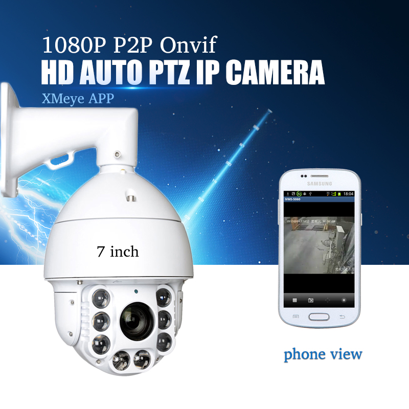 YiiSPO CCTV Camera IP 20X Zoom Camera High Speed Dome Network 1080P 960P Auto ZOOM PTZ IP Camera ONVIF XMeye P2P waterproof 5inch security cctv network ip ptz ir camera auto tracking 1 3mp 960p 20x zoom onvif