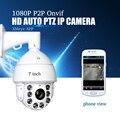 YiiSPO CCTV cámara IP 20X Zoom cámara de alta velocidad red 1080 p 960 P Auto ZOOM de la cámara IP PTZ ONVIF XMeye P2P impermeable