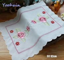 Luxury lace embroidery Placemat Table place Mat cloth tea coffee Doily Cup Glass drink Coaster mug Christmas dining Pad kitchen diy retro lace wool placemat cup coaster tea mug coffee kitchen drink table place mat cloth crochet doilies dining felt pad 21cm