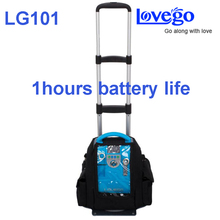 Lovego 1 a 5 litros de oxígeno continuo flujo G1 concentrador de oxígeno portátil