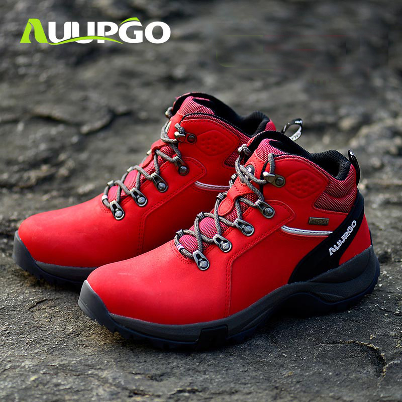 2019 New autumn winter women high hiking shoes waterproof outdoor hiking sneakers Casual warm snow boots Mujeres Zapatos-in Women's Vulcanize Shoes from Shoes    1