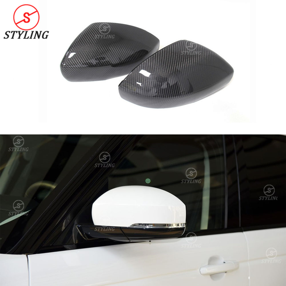 Land Rover Range Rover Sport /& Vogue Replace Carbon Fiber Mirror Cover for 2014
