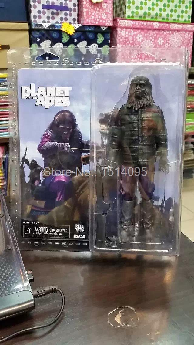 NECA Planet of the Apes Gorilla Soldier PVC Action Figure Collectible Toy 8 20CM neca the terminator 2 action figure t 800 endoskeleton classic figure toy 718cm 7styles