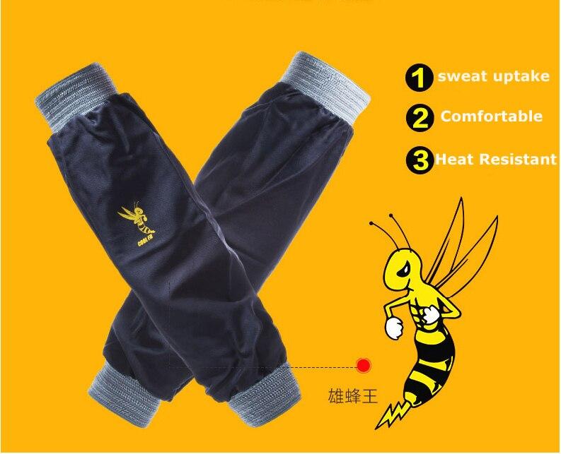 Image 5 - Ognioodporne spawacz FR bawełniane rękawy spawalniczeOdzież BHP   -