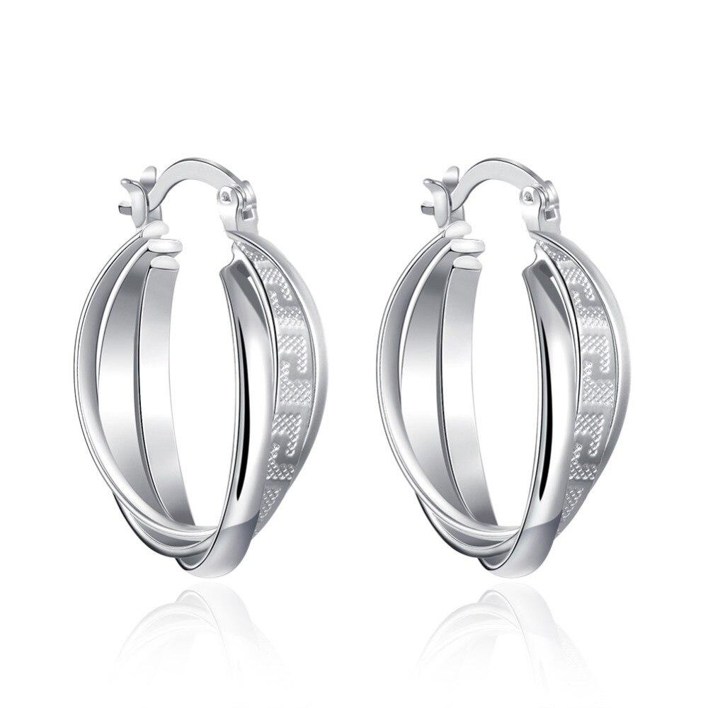 Bohemian Women Lady Wedding Look Earrings High Quality Fashion Jewelry Gothic Pattern Rock Charm Basketball Wives Hoop Earrings