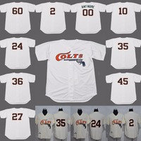 27 José Altuve Houston Colts jersey de béisbol 35 Morgan 2 zorro 24 Wynn 10 Staub 36 Raymond 45 Lee keuchel película vuelta Jersey