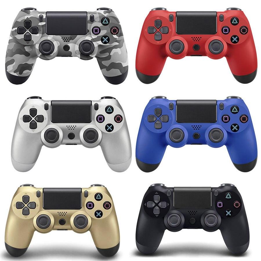 Alta qualidade Joystick Gamepads sem fio bluetooth controlador Do Jogo para o Controlador PS4 para PlayStation 4 Consola