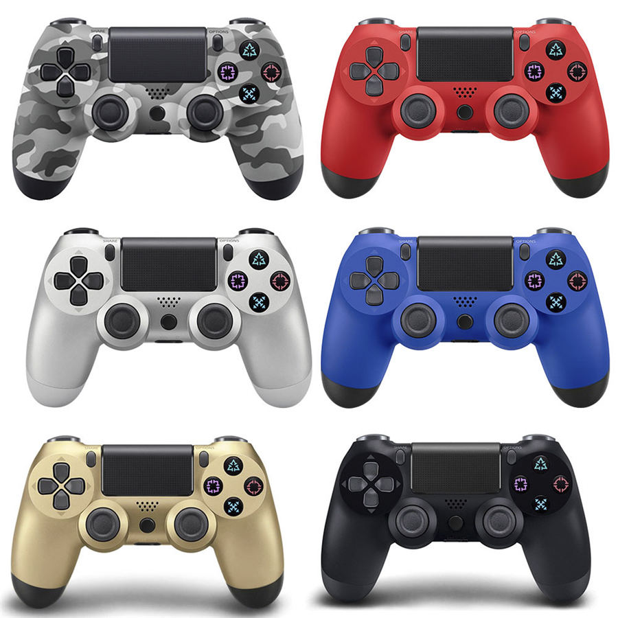 High quality wireless bluetooth Game controller for PS4 Controller Joystick Gamepads for PlayStation 4 Console sanwa button and joystick use in video game console with multi games 520 in 1