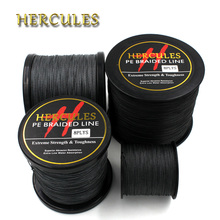 Hercules 8 Strands Fishing Line 100M 300M 500M 1000M 1500M 2000M Black Braided Fishing Line Sea Saltwater Carp Fishing Pesca