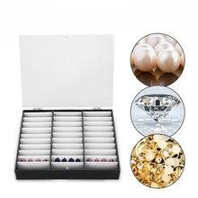 Маникюрный Инструмент, коробка для хранения наконечников для ногтей, поддельные украшения ногтей, стразы, контейнер из бисера, пустой чехол для дизайна ногтей, органайзер для макияжа
