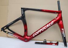 Nowy przyjazd 2019 Road Bike Carbon rama Carbon ramy rowerowe Di2 mechaniczna czerwona czarna Carbon Road rama XXS XS S M L XL tanie tanio Z COPPOCALO Węgla 1050g framebody Rowery szosowe WINDER Połysk