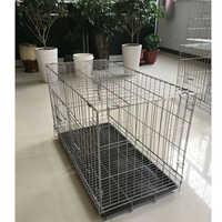 Poulet cuisinier poulet Cage stylos caisse lapin Cage enclos Pet ferme animaux cages taille 80x40x47 cm