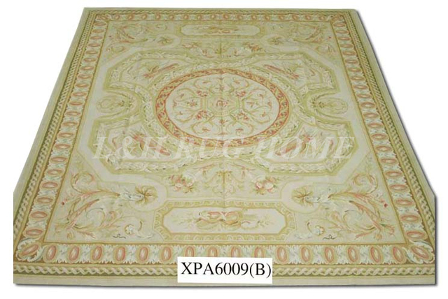 Free Shipping 11 9 X18 4 Aubusson Rugs Beige And Madellian French Style