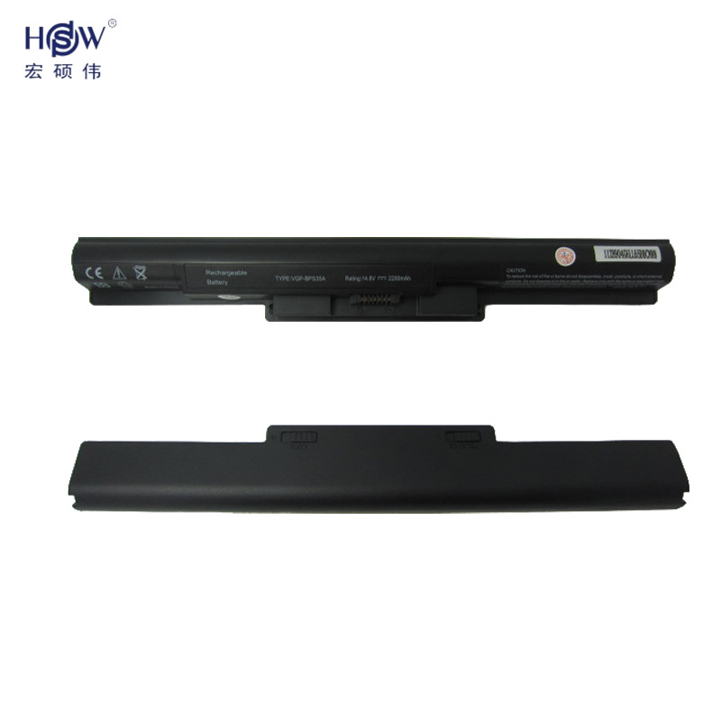 HSW Laptop Battery For Sony VAIO Fit 14E Fit 15E Series F14316SCW F1431AYCW F1431AYCP F1531AYCW F15316SCW VGP-BPS35 VGP-BPS35A 15v 3170mah kingsener vgp bps40 laptop battery for sony vaio flip 14a svf14n svf 15a svf15n17cxb vgp bps40 free 2 years warranty