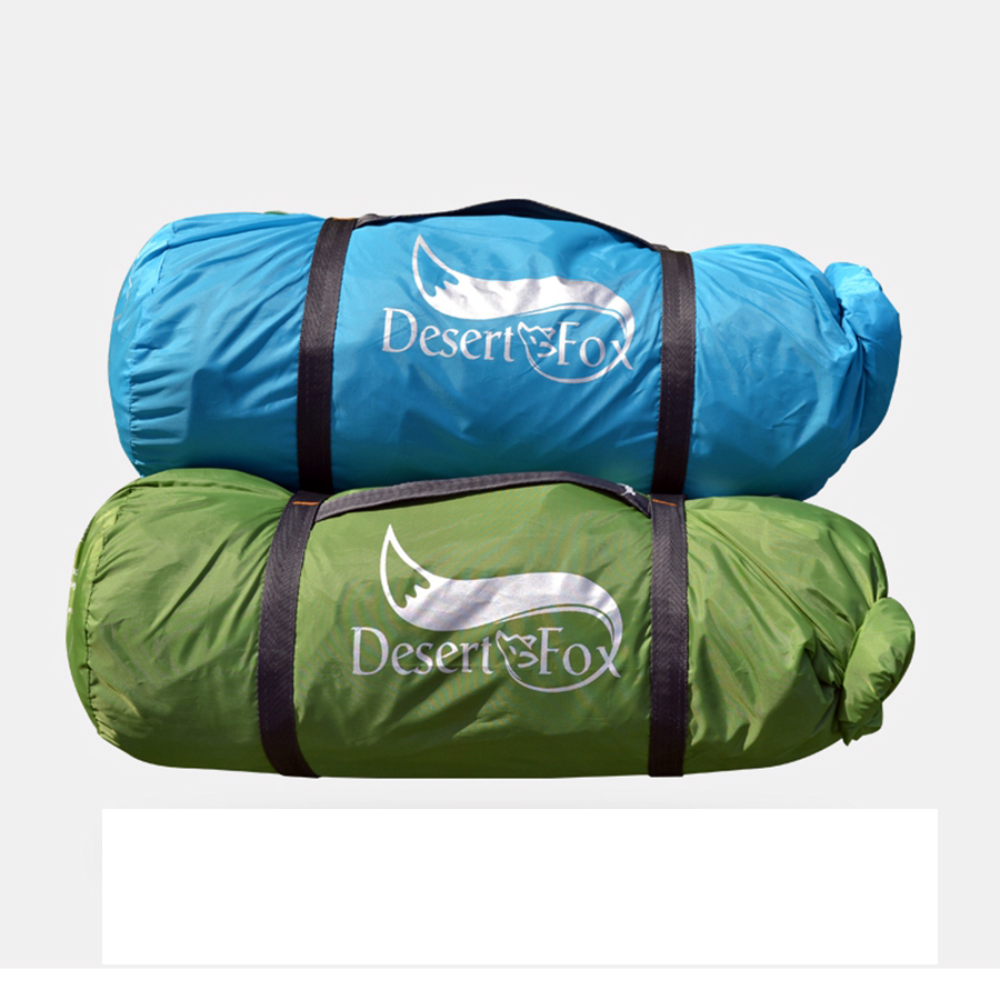 Desert&Fox 3-4 Person Family Tent, Lightweight Portable Alumimun Pole Waterproof Anti-Storm Double Layer 4 Season Camping Tent