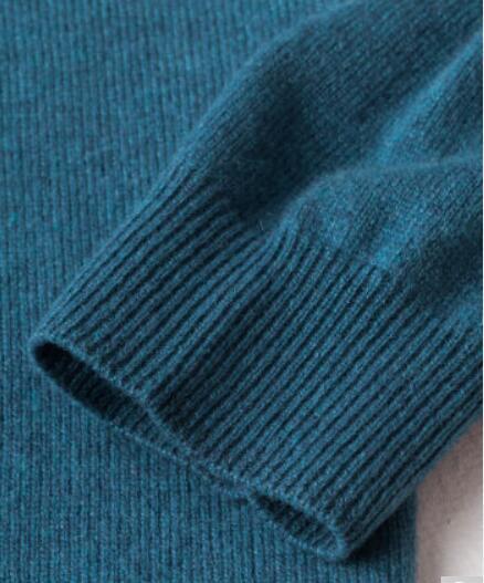 Extra Cachemire Livraison Tissu Pull 100 Noir Chandail Rouge De Haute Naturel Col Gratuite Doux Qualité Chaud Bleu Printemps Roulé Hiver Hommes fwUw6