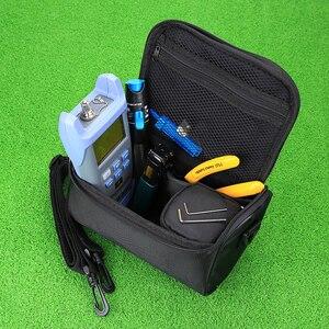 Image 3 - KELUSHI Faser Ftth Tool Kit mit FC 6S Fiber Cleaver und Optische Power Meter 5km Visual Fault Locator 1mw Draht stripper