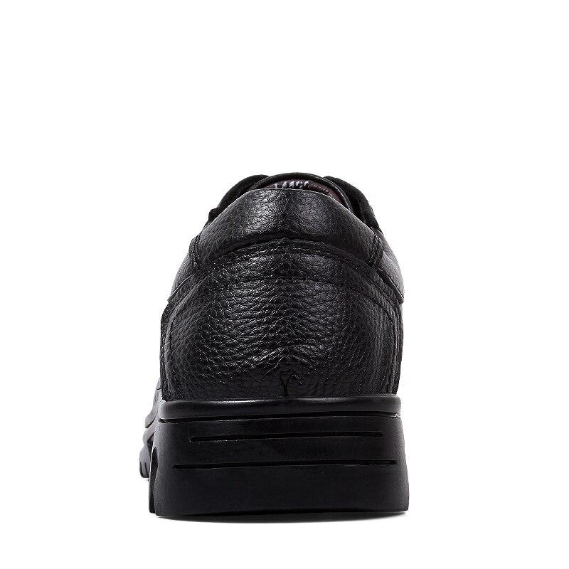 Vestido Verão De Sapato Genuíno Clax Sapatos Escavar Respirável 2018 Escritório Bussiness Masculino Casamento Black Formais Homens Preto Couro q0zAf