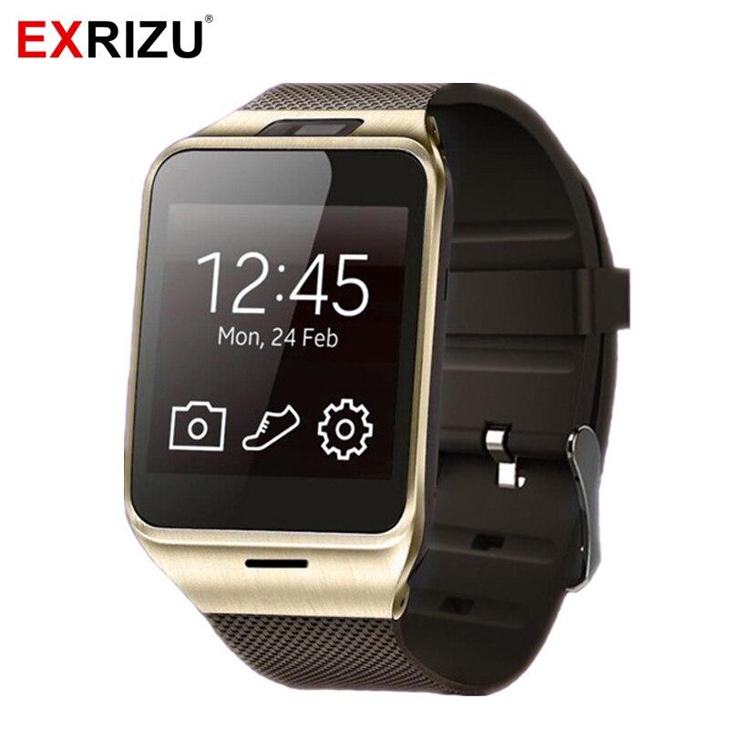 EXRIZU APLUS GV18 Bluetooth Smartwatch GSM 2G SIM Calls SMS Business Smart Watch Clock Android Camera