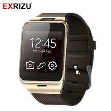 Дешевые Exrizu aplus gv18 Bluetooth SmartWatch GSM 2 г SIM звонки/SMS Бизнес Смарт часы Часы Android Камера музыкальный плеер шагомер
