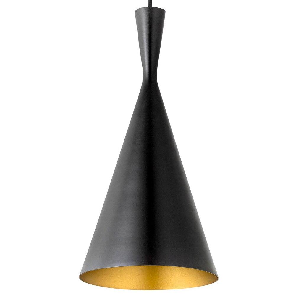 Retro Vintage Pendant Light Edison E26/E27 Nordic Gold Inner Hanging Lamp Restaurant Kitchen Light Dinging Room Luminaire Lustre