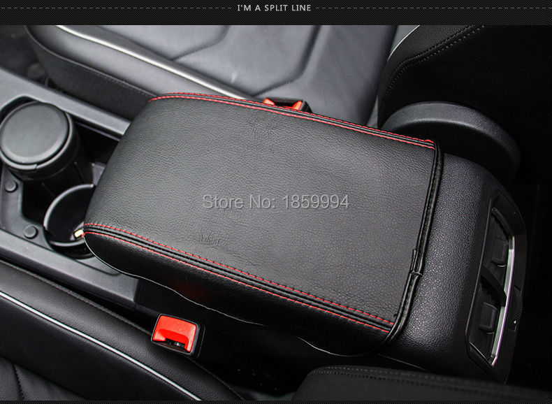 for 2016 2017 2018 VW Tiguan mk2 Armrest Console Pad Cover Cushion Support Box Armrest Top Mat Liner