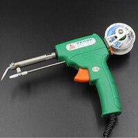 New Technology 220V 60W Electric Iron Auto Gun Weld Welding Soldering Iron Environmental Tools With Heatproof