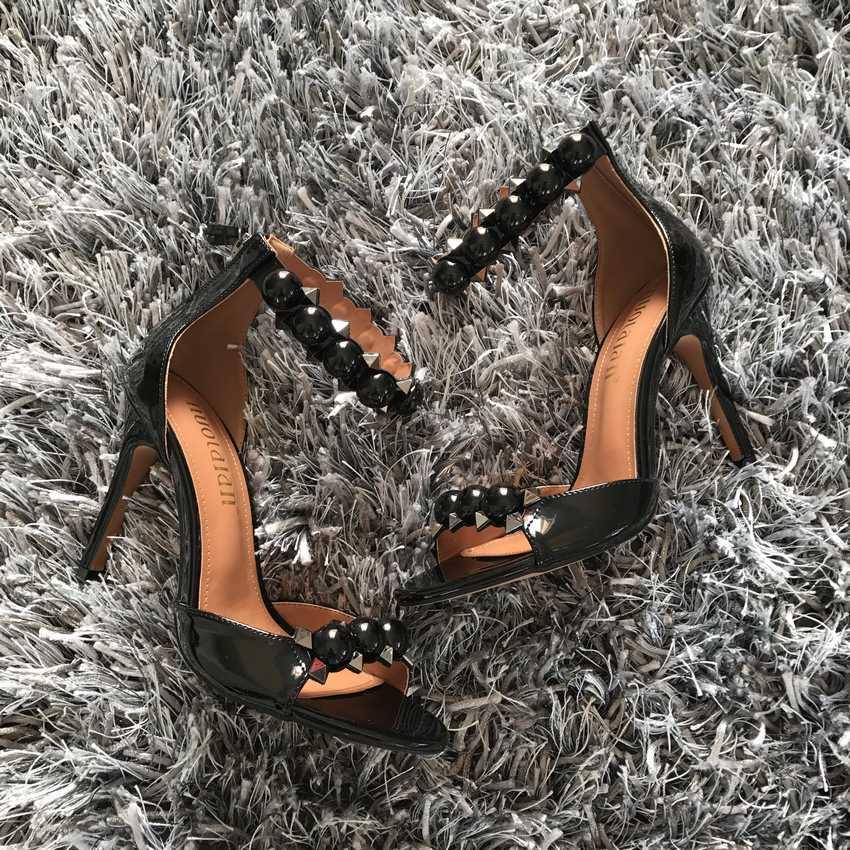 YENI GELMESI kadın pompaları ayak bileği kayışı yüksek topuk kadın ayakkabı seksi peep toe yüksek topuklu sandalet parti düğün ayakkabı kadın