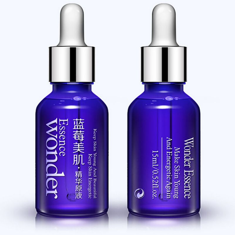 Skin Care Blueberry Hyaluronic Acid Liquid Anti Wrinkle Anti Aging Collagen Serum Essence Whitening Moisturizing Oil 15ml цена 2017