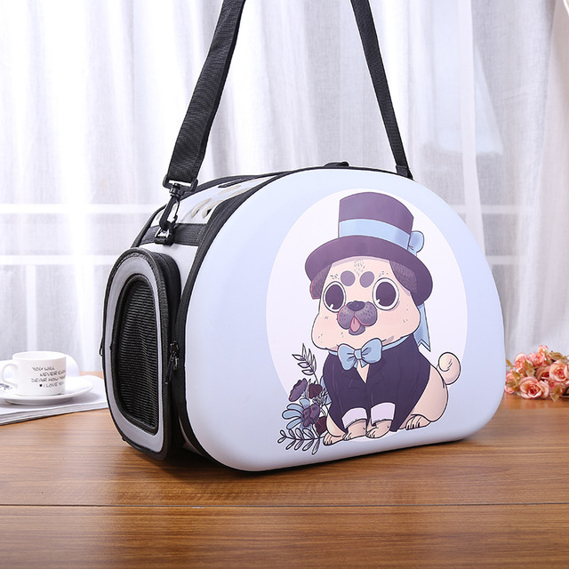 199480806c3 Cute Pet Cat Dog Travel Carrier Bag Outdoor EVA Foldable Portable Dog  Chihuahua Carry Bag Dog Shoulder Tote Shopping Bag Handbag