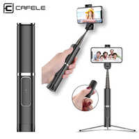 Cafele Bluetooth Selfie Stick with Wireless Remote Portable Handheld Tripod Selfie For iPhone Samsung Huawei Xiaomi