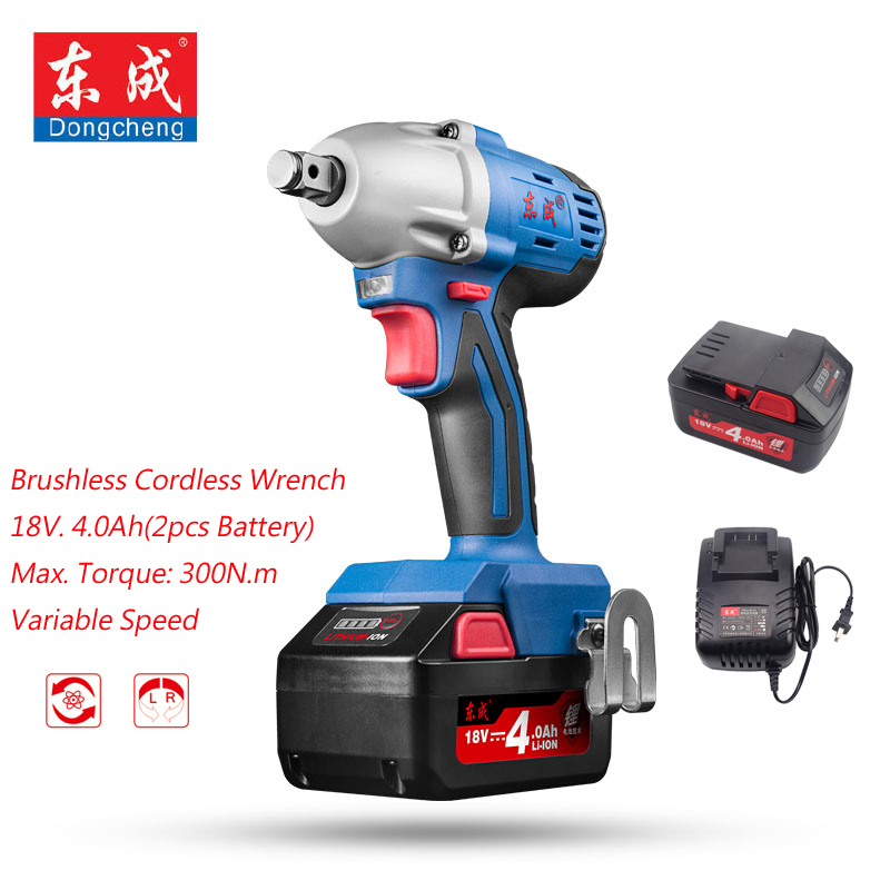 18V Rechargeable Brushless Impact Wrench 4.0Ah Cordless Electric Wrench 300N.m M12-M18 Impact Wrench 1/2 (Gift 19/22mm Sleeve) wheeler student companion to accompany fundamentals of biochemistry