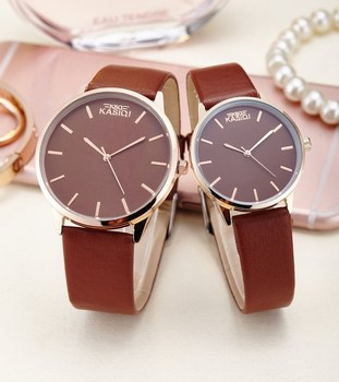 a93ffb88248a Nueva marca de relojes de pareja de moda Popular Casual de cuarzo para  hombres y mujeres reloj de regalo para niños y niñas reloj de pulsera