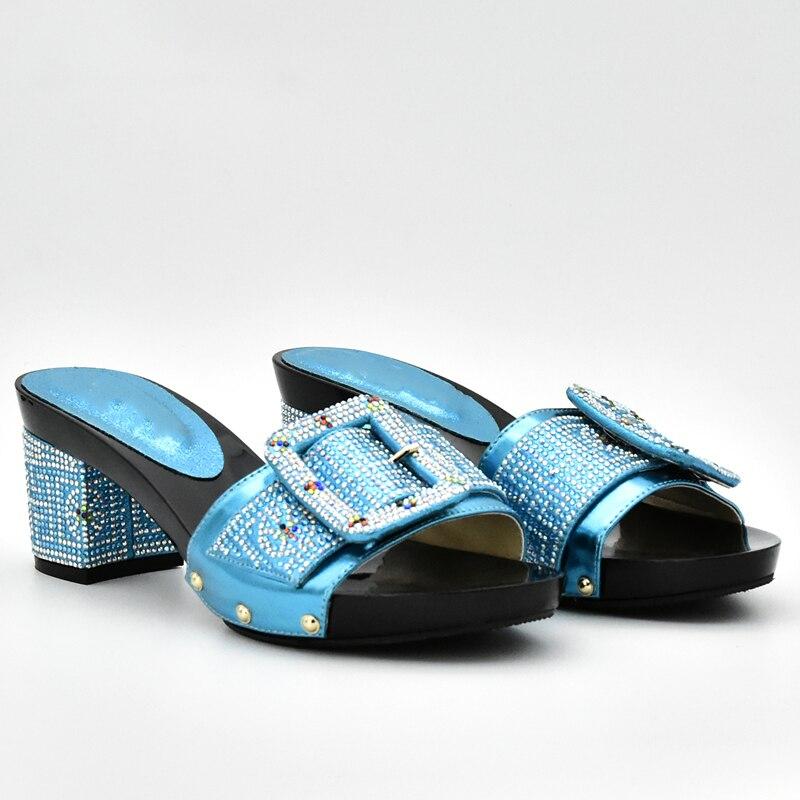 wein rot Schuh Und Tasche Frauen Schwarzes himmel königliches gold Schuhe Himmel Mit Blau Verziert Damen orange Set gelb blau Passenden Nigerian Strass Farbe Italienische silber qwnYBgIf